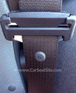 back of lightweight locking latchplate